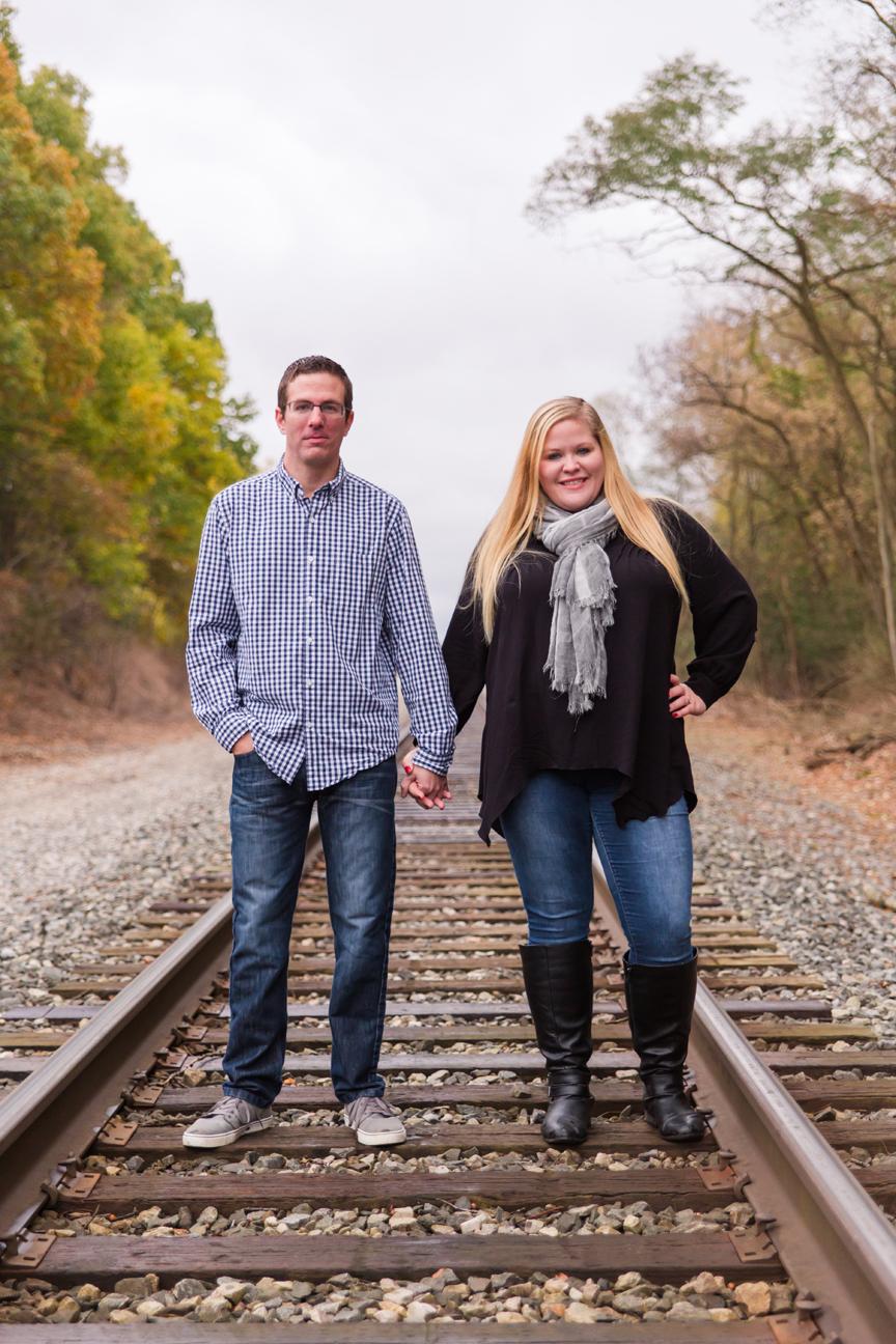 Liz & David – Family and Engagement Photos – 10.27.18